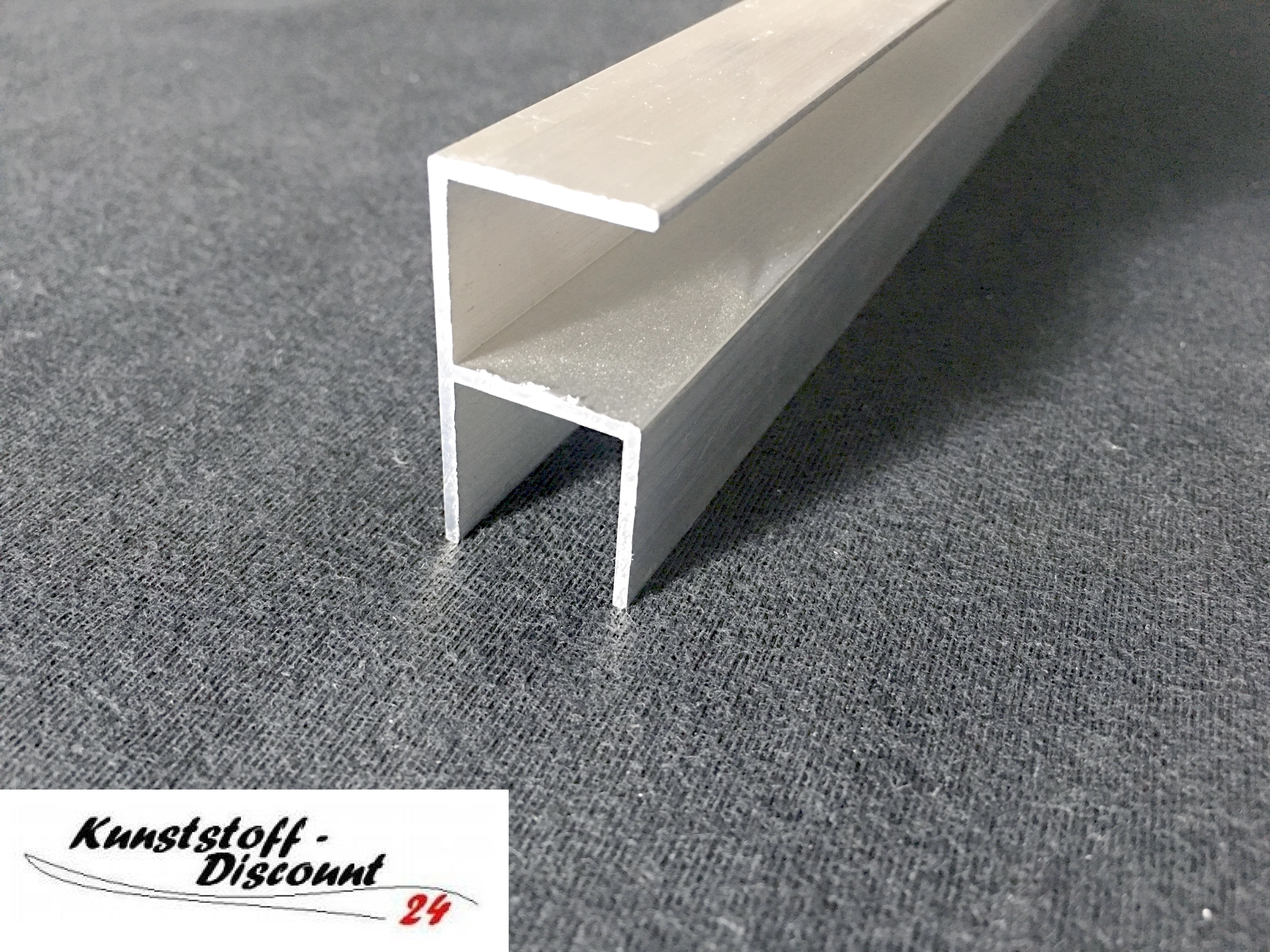 eck profil f r 16mm platten aluminium kunststoffdiscount. Black Bedroom Furniture Sets. Home Design Ideas