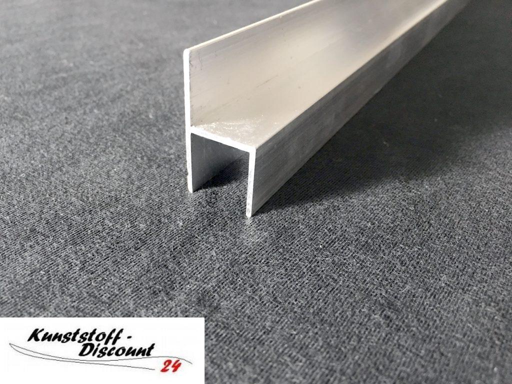 stuhl profil f r 16mm platten aluminium kunststoffdiscount. Black Bedroom Furniture Sets. Home Design Ideas