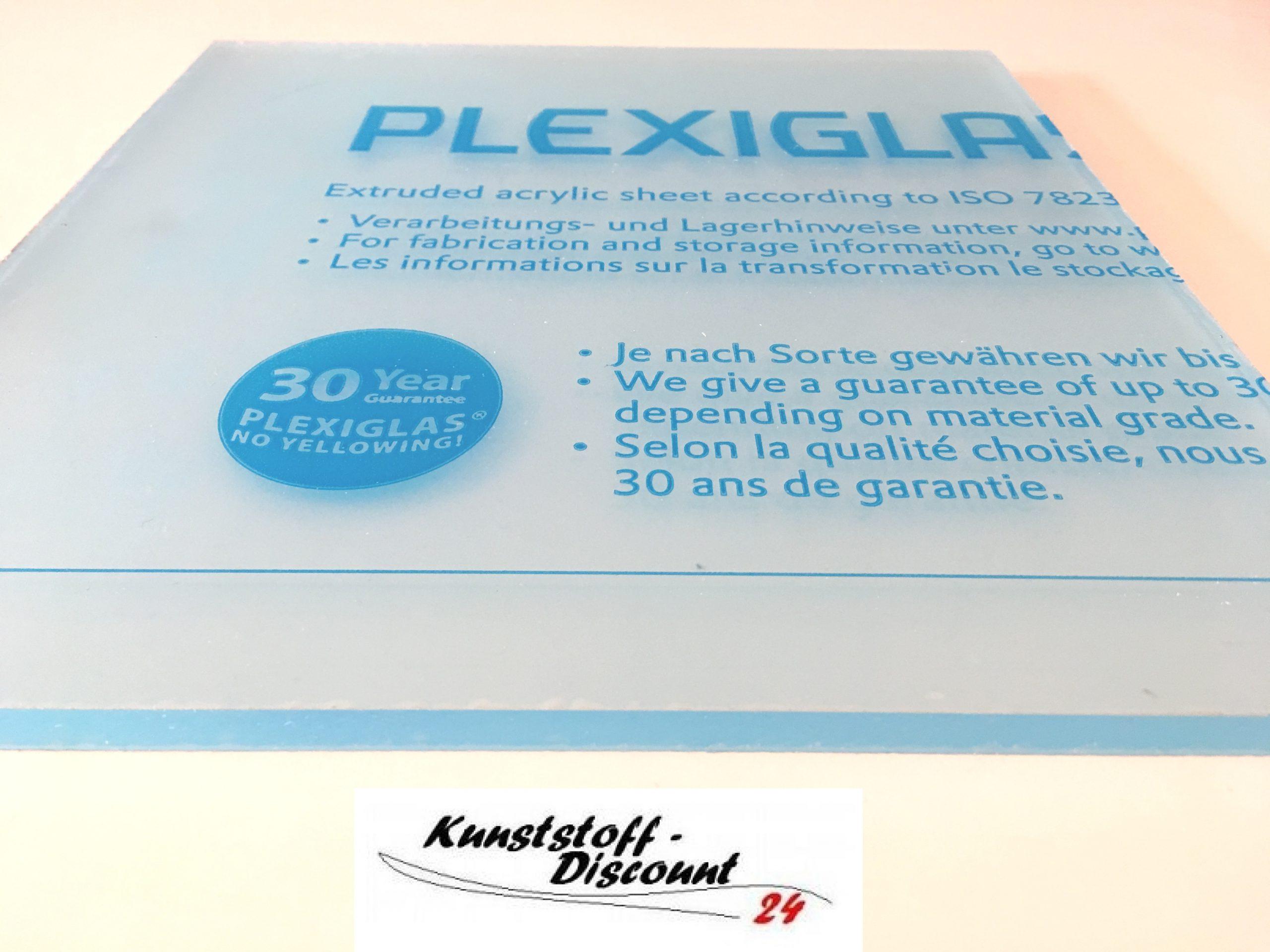 Gr/ünke/® 5 mm Acrylglas XT farblos klar Zuschnitt Platte Acryl 1000mm x 500mm