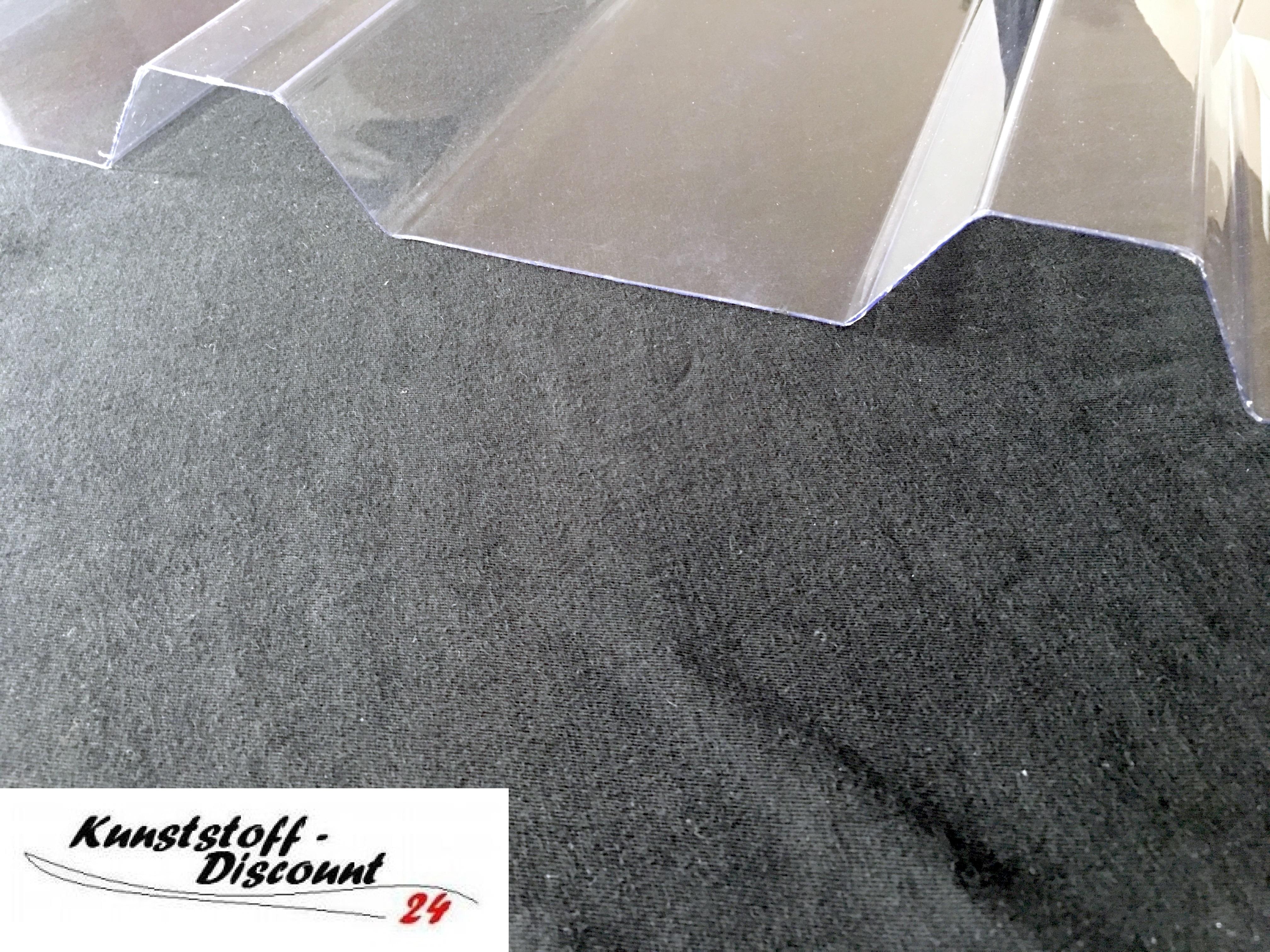 lichtplatte polycarbonat farblos klar 250 48 trapezprofil kunststoffdiscount. Black Bedroom Furniture Sets. Home Design Ideas