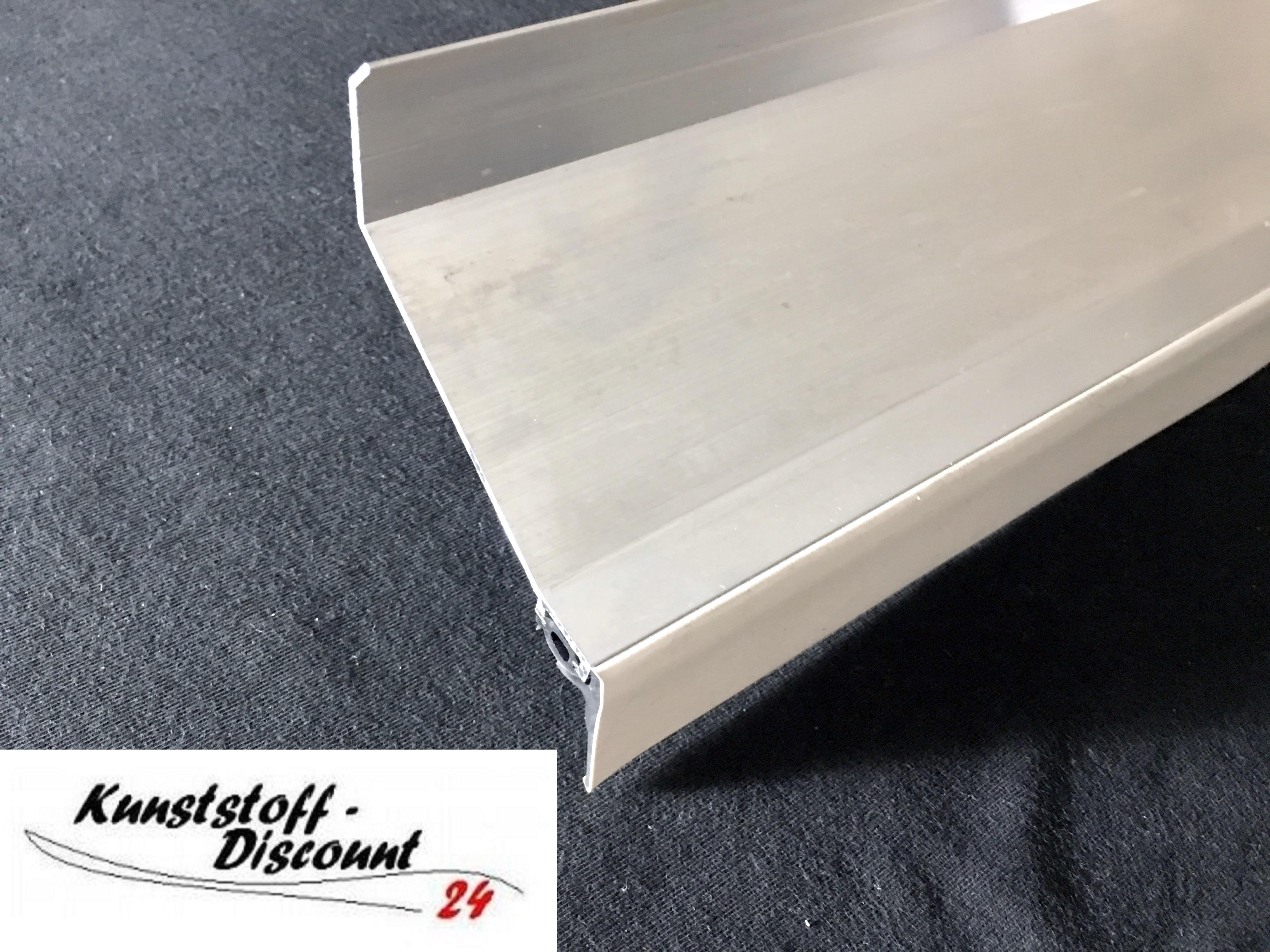 wandanschlu profil mit dichtung aluminium kunststoffdiscount. Black Bedroom Furniture Sets. Home Design Ideas